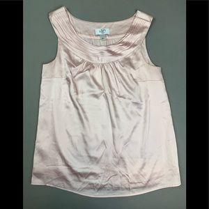 Ann Taylor LOFT soft pink blouse